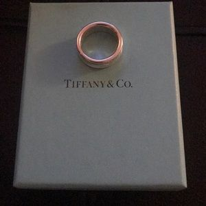 Tiffany & Co sterling silver tag ring